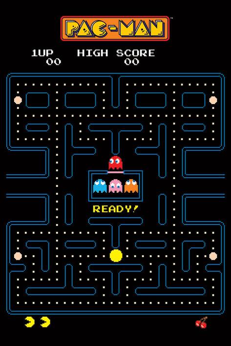 Pac-Man - Maze Poster, Plakat | Kaufen bei Europosters